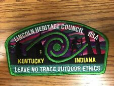 Lincoln Heritage Council CSP Leave No Trace Outdoor Ethics Mint