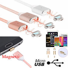 Magnetic Type-C Micro USB Sync Charging Charger Cable for Samsung Galaxy S8 Plus