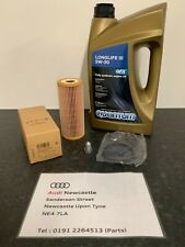 Genuine Audi/VW Oil Filter LL Service Kit - 1.9 diesel A3/A4/A6/GOLF/PASSAT/BORA