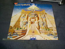 Iron Maiden Powerslave Original Capitol Records Poster not laminated