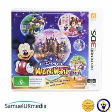 Disney Mágico Mundo (Nintendo 3DS) ** Excelente Estado **