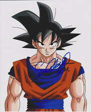 Dragon Ball Z Voix de Guku Sean Schemmel Signé 8X10 Photo