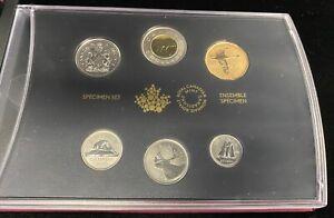 2016 Royal Canadian Mint Specimen Set Tundra Swan Loonie $1 w/ Box & COA RCM