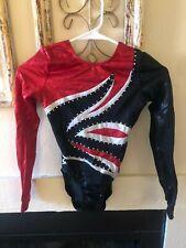 GK Elite Sportswear competition long-sleeved leotard - Adult Medium