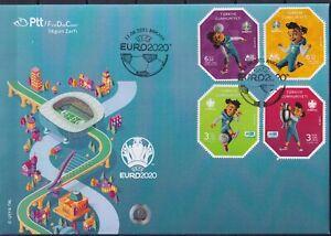 Turkey 2021 Sport, Soccer, European Football Championship, EURO 2020 FDC