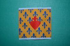 écusson insigne tissu religieux Cœur de Jésus royaliste chouannerie chouan scout