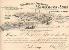 Küppersbusch Gelsenkirchen Schalke RE 1906 Schalker Herd- und Ofen Fab Westfalen