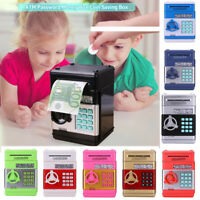 Piggy Bank ATM Password Money Box Cash Coin Saving Box Automatic Electronic Gift