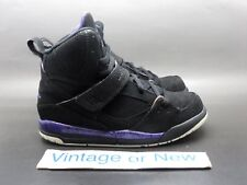 half off c8dff 1532d Girls  Nike Air Jordan Flight 45 Black Purple White PS 2011 sz 12C