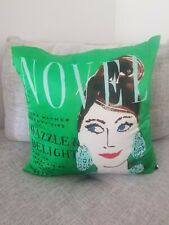 "Kate Spade ""Dazzle & Delight "" Down & Silk throw bed pillow"