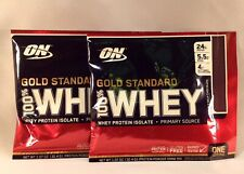 2 x ON OPTIMUM NUTRITION Gold Standard 100% Whey Protein Isolate Primary Source