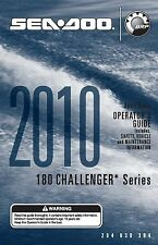 Sea-Doo Owners Manual Book 2010 180 CHALLENGER