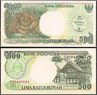 INDONESIA - BILLETE 500 RUPIAS 1992 (1997) Pick 128f SC UNC