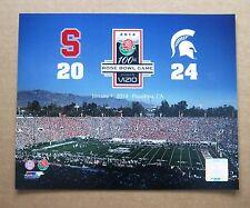 Michigan State University MSU 100th Rose Bowl 2014  vs Stanford 11 x14 Photo