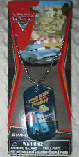 Disney Kids The Cars Friends to the Finish line Dog Tag Necklace PARTY FAVORS