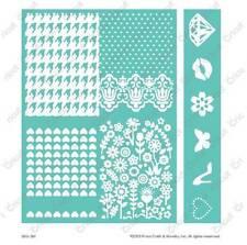 Cuttlebug 5x7 Embossing Embossables Pattern & Folder - Girly Girl - 2002167