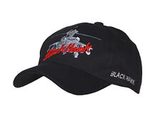 US Army Black Hawk Helicopter Baseball Cap Black Seals Navy Marines WK2