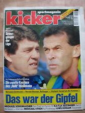 Kicker Sportmagazin Nr. 90 / 1994