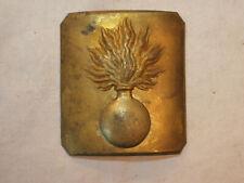 ébauche plaque CEINTURON MOD 1845-CAVALERIE GARDE IMPERIALE CUIRASSIER DRAGON