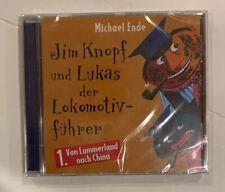 NEW Michael Ende German CD Jim Knopf und Lukas der Lokomotiv-Fuehrer Deutsch