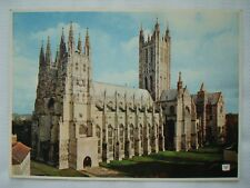 Canterbury Cathedral South West Postcard by Walter Scott