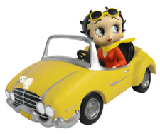 More details for betty boop yellow sports car 17cm figurine