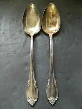 ROGERS REMEMBRANCE SET 2 TABLE SERVING  SPOONS