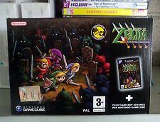 The legend of Zelda four sword adventures GameCube PAL italiano nuovo new