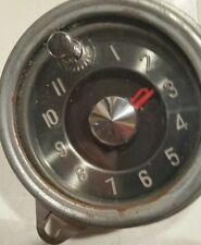 Vintage Antique Automobile Car Clock- New Haven Electric