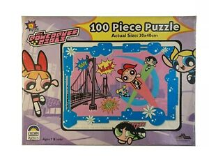 Crown Jigsaw Puzzle The PowerPuff Girls Cartoon Network 100pc 30x40cm