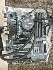 CPU RAM Motherboard cooler bundle pc parts