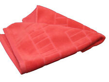 New Christy Odyssey Luxury Cotton Quality Bath Shower Mat Hibiscus Pink