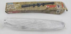 Crosman 0410 Airgun Scope Superscope Targetfinder 4x Air Guns Black