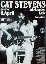 STEVENS, CAT - 1974 - Konzertplakat - Concert - Buddha and... - Tourposter - Fra