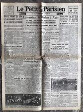 N35 La Une Du Journal Le Petit Parisien 26 Et 27 Décembre 1942