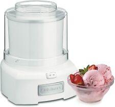 Cuisinart 1.5 Quart Frozen Yogurt Ice Cream Sorbet Maker - White