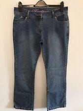 Cherokee Women's Bootcut Blue Jeans, Size 14 Standard Length