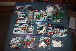 Lego Christmas lot Bakery, Post Office, Toy, more