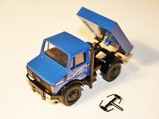 Unimog U 2100 in blau blu bleu blue, Cursor #691 in 1:43 BOXED!