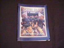 2010 University of Notre Dame Football Media Guide