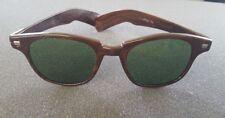 rayex nylon wood grain vintage retro sun glasses