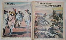 1935 Sanita militare italiana Collegamento radio Gondar Etiopia Massaia Ascari