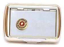 Shotgun Cartridge Head Tobacco Hand Rolling Up Cigarette Tin Shooting Gift Award