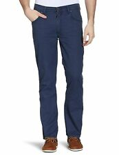Wrangler Texas Stretch Pants L34 Jeans 32-34-blue Navy