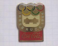 COCA-COLA / OLYMPISCHE SPIELE INNSBRUCK 1964  ... Winter Sport Pin (151d)