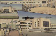 AVIATION PERU LIMA TERMINAL AEREO DE LIMATAMBO 3 VIEWS