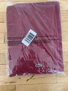 """New LACOSTE  Croc Logo Quality 100% Cotton Bath Towel 54x30"""""""