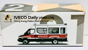 Tiny City Die-Cast- No.21 IVECO Daily (AM8174) (Hong Kong Police)