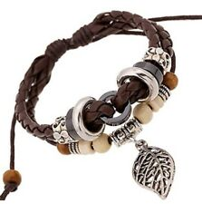 Leather Bohemia Beaded Vintage Bracelet ~ Hand Woven & FREE Friendship Bracelet