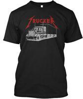 Trucker Metal - Hanes Tagless Tee T-Shirt